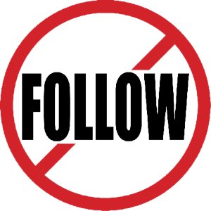 Don't Follow